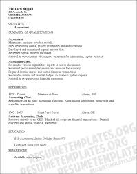 Sample Resumes For Entry Level Jobs by Sample Entry Level Accounting Resumes Entry Level Accounting