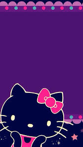 wallpaper hello kitty violet hello kitty background design violet 9 background check all