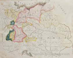 Central Europe Map by Map Of Central Europe 1822