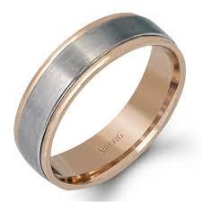 gold mens wedding bands simon g plain gold mens wedding bands designer engagement