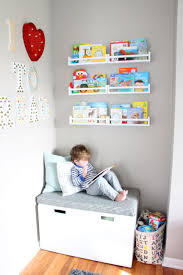 kids reading bench playroom reading nook diy bench for this is our bliss together