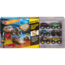 monster jam batman truck wheels monster jam triple blast arena play set walmart com