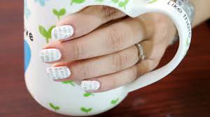newspaper nail art step by step with water nail art at home
