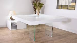 Square Glass Dining Table Floating Dining Table Lofty Inspiration Kitchen Dining Room Ideas