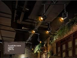 modern industrial led ceiling l bars clothing store 2 3