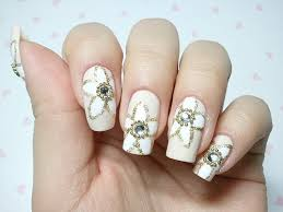 bridal nail designs wedding nail art a nail for a wedding day