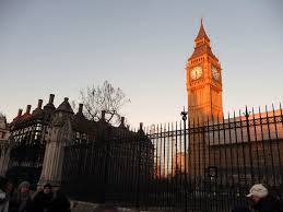 London Clock Tower by File London Westminster Clock Tower And Parliament Entrance
