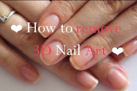 how to remove 3d nail art how you can do it at home pictures