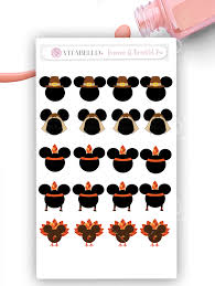 thanksgiving disney pictures disney nail decal thanksgiving nail decal mickey nail decal