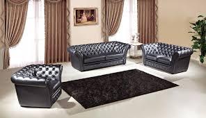 Luxury Leather Sofa Sets Tufted Leather Sofa Set Center Divinity