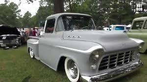 Classic Chevy Trucks 1956 - custom 1956 chevy apache pickup truck 2014 ardmore car show youtube