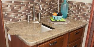 Kitchen Sink Counter - Kitchen counter with sink