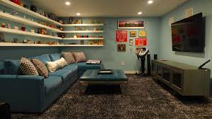 Wall Mount Besta Tv Bench Eclectic Man Cave With Shag Carpet By Christina Salway Zillow