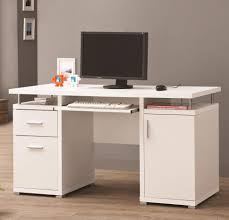 furniture desk white modern contemporary desk modern rustic desk