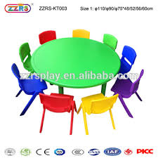 plastic round table and chairs kids party plastic round tables and chairs kindergarten furniture