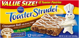 Pillsbury Toaster Strudel Cinnamon Roll Toaster Pastries 12 Ct