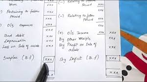 income and expenditure a c u0026 balance sheet with solved problem