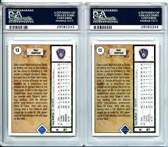 lot detail 1989 upper deck 13 gary sheffield rc rookie card 1989 upper deck 13 gary sheffield rc rookie card error ss upside down pair both