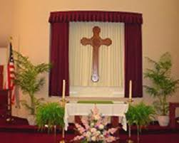 Church Curtains Window Treatments And Pulpit Draperies For Faith Communities And