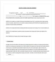 42 contract templates free u0026 premium templates