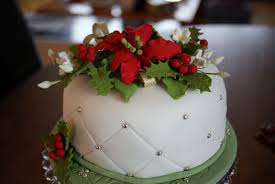 Decorating Christmas Cakes Ideas Home Design Great Beautiful At