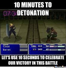 Final Fantasy Memes - final fantasy logic by m h m meme center