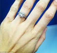 fiancee ring ruby s fiancee phoebe dahl reveals diamond engagement