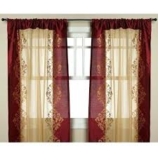 Sheer Maroon Curtains Sheer Maroon Curtains Howtolarawith Me