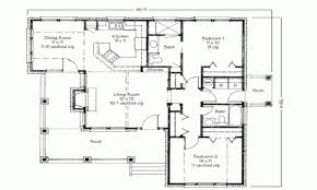 Plan 2 by 28 Simple Small House Floor Plans 2 Bed House Modern Two Bedroom