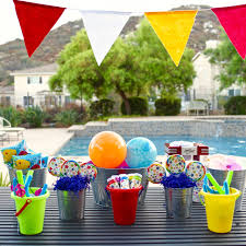 fun kids summer party ocean sensory bin make life lovely