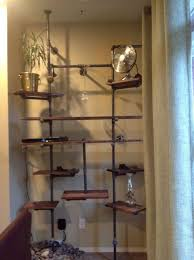 Black Pipe Shelving by 108 Best Iron Pipe Creations Images On Pinterest Home