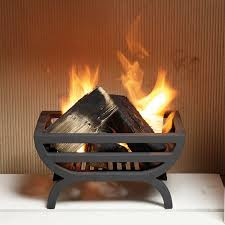 cradle small fire basket furniture and fireplaces
