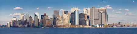 manhattan skyline new york manhattan panorama wallpaper bespoke digital print