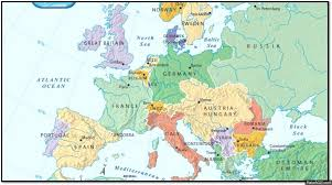 post ww1 map europe before and after wwi on a gif
