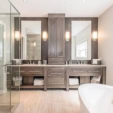 modern master bathroom ideas beautiful and so much storage space by hawksviewhomeskw