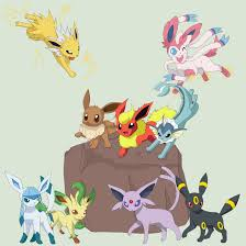 pokemon eevee evolutions names images pokemon images