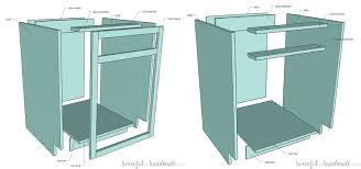 how to build a base for cabinets to sit on how to build base cabinets houseful of handmade