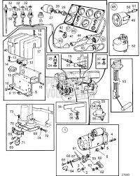 volvo penta exploded view schematic electrical system and