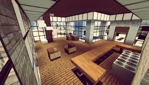 modern minecraft home interior
