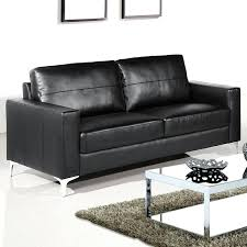 Black Leather Corner Sofa Small Black Leather Sofa Saappealing Sa Sa Black Leather Corner