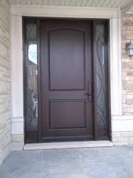 Fiberglass Exterior Doors With Sidelights Beautiful Oversize Fiberglass Entry Door With Custom Wrought Iron