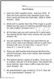 practice your elementary math skills with these word problems