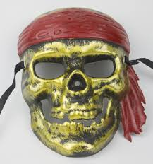 Skull Mask Halloween Horror Creative Party Masks Pirates Skull Masks Buccaneer