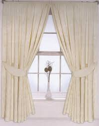 Floral Lined Curtains Curtains 108 Inch Drop Jacquard Fully Lined