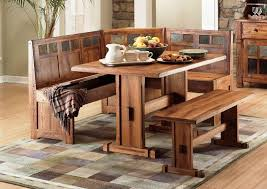 Dining Room Bench Seat Dining Table With Bench Seats U2014 Cabinets Beds Sofas And