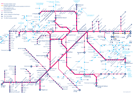 map of london commuter rail stations u0026 lines