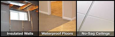 Waterproof Flooring For Basement Basement Finishing System By Total Basement Finishing