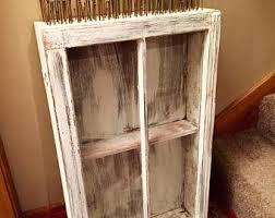 Rustic Bathroom Medicine Cabinets by On Sale Shabby Medicine Cabinet 6 Pane Window Cabinet