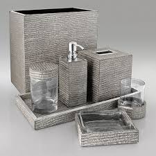 Bathroom Accessories Silver Ideas Pinterest Silver - Silver bathroom