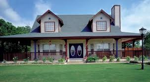 Wraparound Porch House Plans Southern Cottage Country Style With